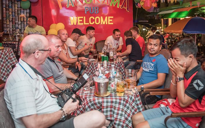 The Panorama Pub was a full house during the four days of events and celebrations, with 240K baht raised for the Heartt2000.