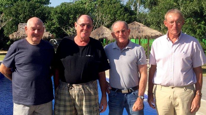 Paul Davies, Stan Rees, Paddy Devereux & Willem Lasonder.