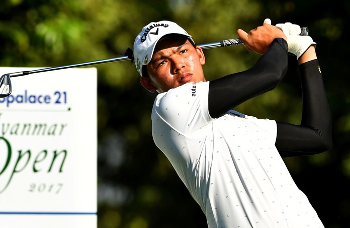 Thailand's Phachara Khongwatmai will be one of the players to watch at the Royal Cup golf tournament, being held at Phoenix Gold Golf and Country Club in Pattaya from December 28-31. (Photo/Asian Tour)