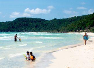 Vietnam's Phu Quoc Beach. (Photo by Bob James)