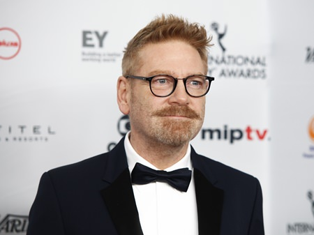 Actor and director Kenneth Branagh. (Photo by Andy Kropa/Invision/AP)