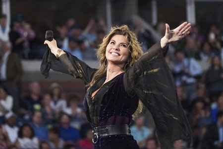 Canadian singer Shania Twain. (Photo by Charles Sykes/Invision/AP)