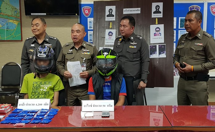 Police seize drugs, home from alleged E  Pattaya dealer