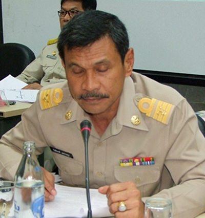 Kithipong Polprayul, head of the Land Office Chonburi.
