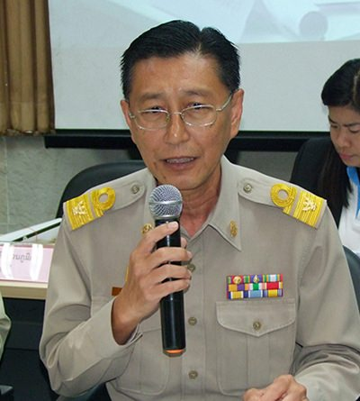 Praphuet Phokha, head of Chonburi Cooperatives.