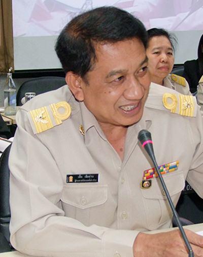 Them Sua-uam, director of the Office of Chonburi Primary Education Area 1.