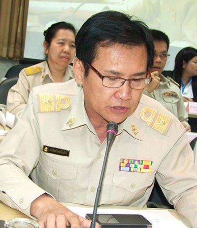 Eakawat Ussaneepan, director of the Office of Chonburi Primary Education Area 2.