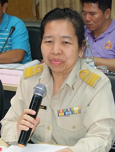 Jiraporn Poonyalit, director of the Skill Development Institute Chonburi Area 3.
