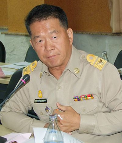 Somkiet Kanchanakarn, head of the Fishery Department Chonburi.