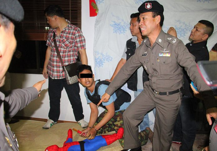 Prajak Masawang has been sentenced to life in prison for murdering two young American-Thai boys and their babysitter on Children's Day 2014 in Pattaya.