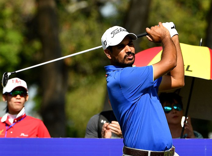 India's Gaganjeet Bhullar carded a final round 66 to take third place.