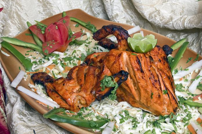 The world famous Tandoori Chicken at Ali baba
