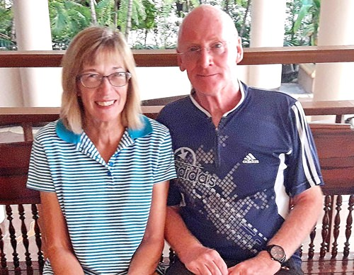 Graham Buckingham & Carole Kubicki.