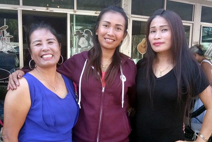 Wan, Sasicha and Tan.