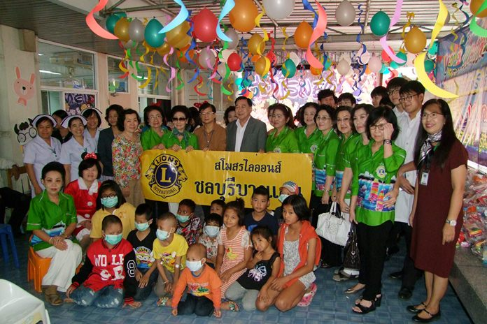 Gov. Pakarathorn Thienchai hosts a Children's Day Festival at Chonburi Hospital's Learning Center for children with chronic illnesses.