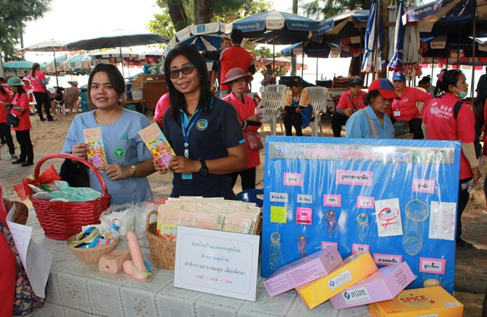 Pattaya will celebrate Valentine's Day with a parade and public-relations campaign focused on preventing HIV infections.