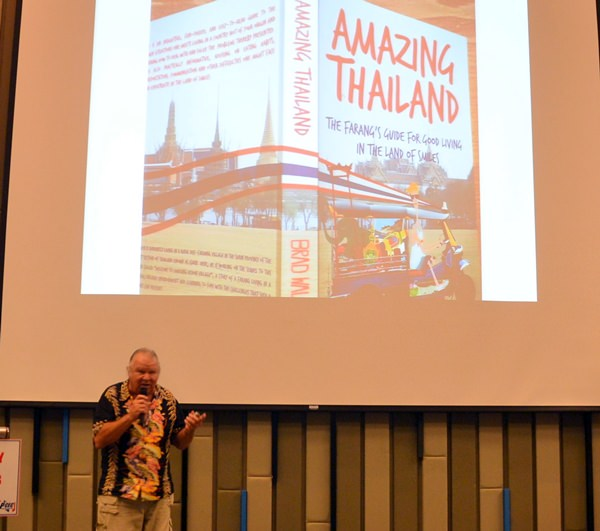Brad Walker talks about 'An Amazing Village in Thailand'.