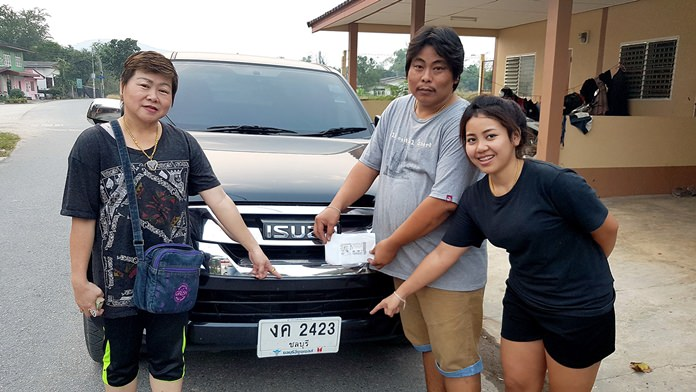 Wirit Sirisut played the last two digits of his pickup truck's license plate, as he had done many times. This time he got lucky.