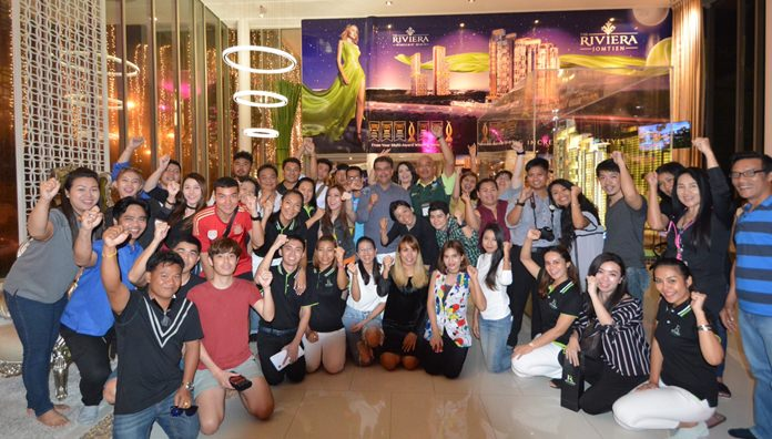 Marketing Manager Ubonjitr Thamchop was present to welcome the guests on the occasion of the Riviera Jomtien Thank You Press party 2018.