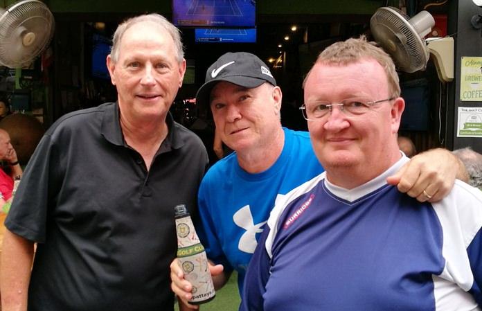 Dan Dietz, Brad Gearie and Andy Leach.