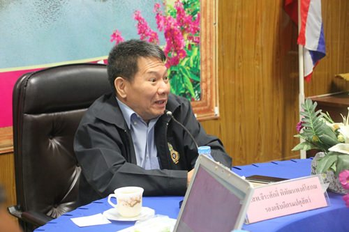 Dr. Jeerasak Pipattanapongsophon.