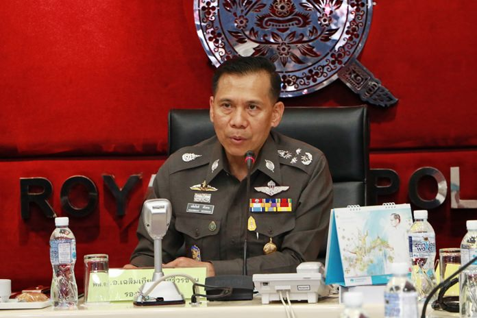 Deputy Commissioner-General of the Royal Thai Police, Pol Gen Chalermkiat Sriworakhan.