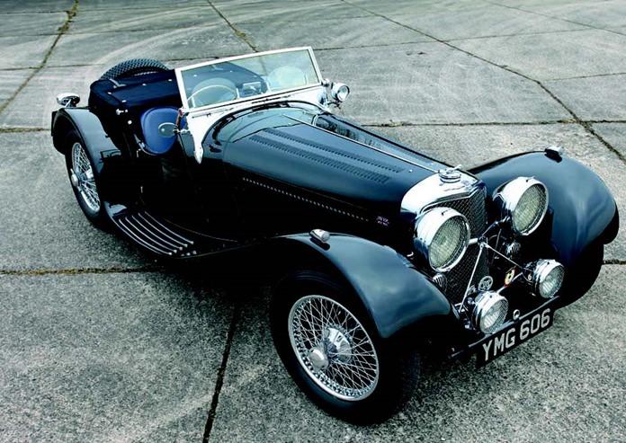 Jaguar SS 100.