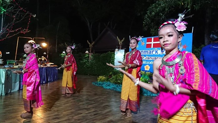 Children from the Human Help Network Thailand shelters provided the entertainment as Danish expats celebrated their country's National Day in Pattaya.