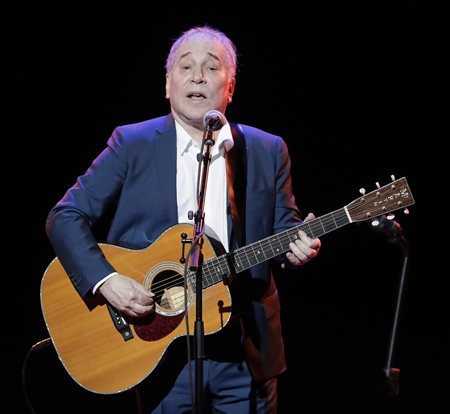 Musician Paul Simon is shown in this Sept. 22, 2016 file photo. (AP Photo/Julie Jacobson)