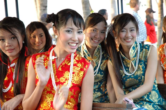 This year we welcome in the Year of the Dog on Friday, February 16, with traditional Chinese New Year celebrations throughout Thailand. The last time we celebrated the Year of the Dog, 12-years ago, our pages were graced with these lovely lasses enjoying the parade. Once again, most local resorts and entertainment venues will be hosting events for the Lunar New Year. So, wherever you go, or even if you decide to stay home to celebrate the Year of the Dog, the Pattaya Mail Media family wishes you and yours a Happy Chinese New Year – Kung Hei Fat Choi!
