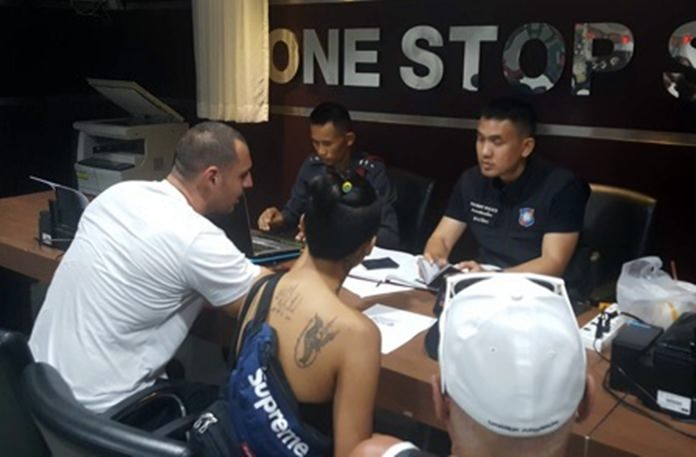 Jose Manuel Polanco Jr. allegedly confessed to fighting Australian Benjamin Matthew Robb, who later died following a brawl in the Ruby Club on Soi 6.