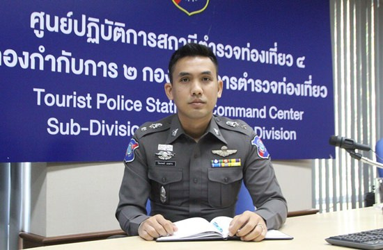 Division commander Pol. Lt. Col. Piyapong Ensarn says Pattaya's tourist police have joined the effort to increase security during the busy Chinese New Year weekend.