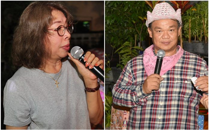 Jedtharin Ninlapha and Thanawat Suansuk 'King' kept the party lively and fun-filled.