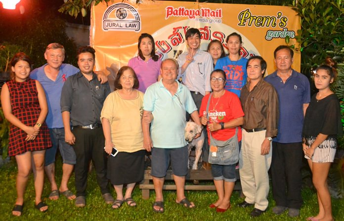 The Puvana-Jural Law family gathers for a group photo.