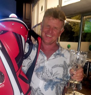 Memorial winner Colin Greig.