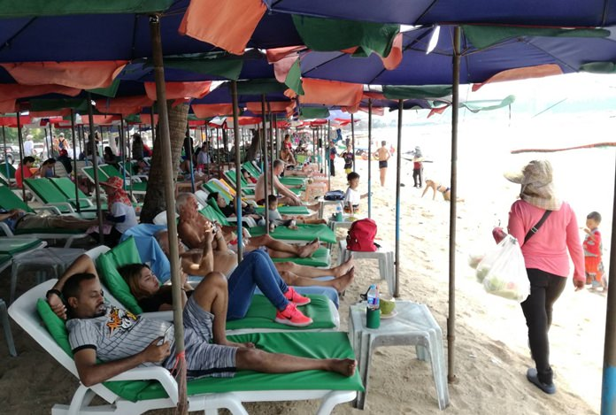 Pattaya officials will start publicizing the legal restriction on smoking as well as its health hazards on Pattaya Beach Friday, Feb. 23, after proclaiming their previous campaign on Jomtien Beach a success.
