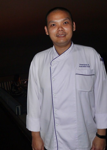 Theerawat Kanyavimon, Veranda Resort Pattaya's new executive chef.