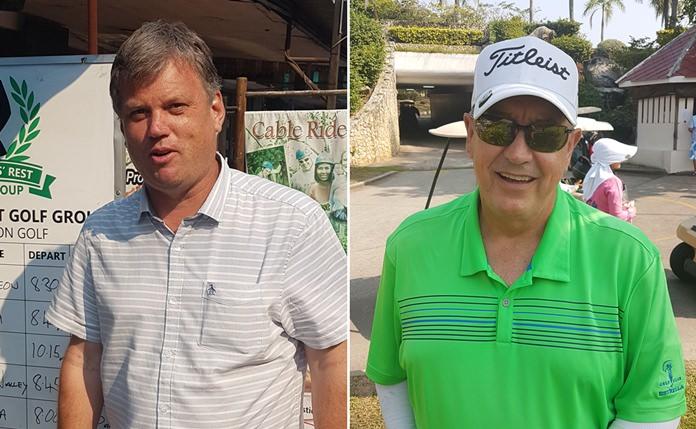 Andy Halsy (left) & Arnold Jones.
