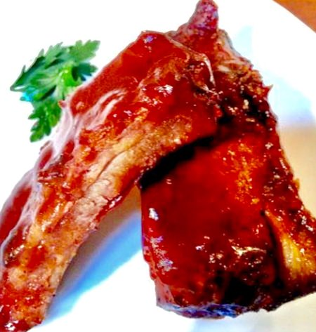 BBQ Pork Spare Ribs & Jasmine Rice for only 195 baht