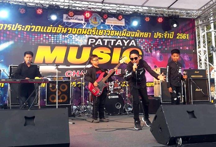 Aspiring musicians took part in the 2018 Pattaya Music Challenge, held from Feb. 17-19.