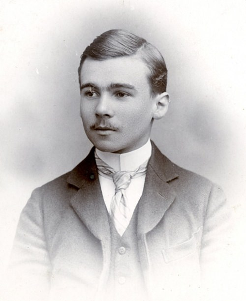 George Butterworth as a student at Eton.