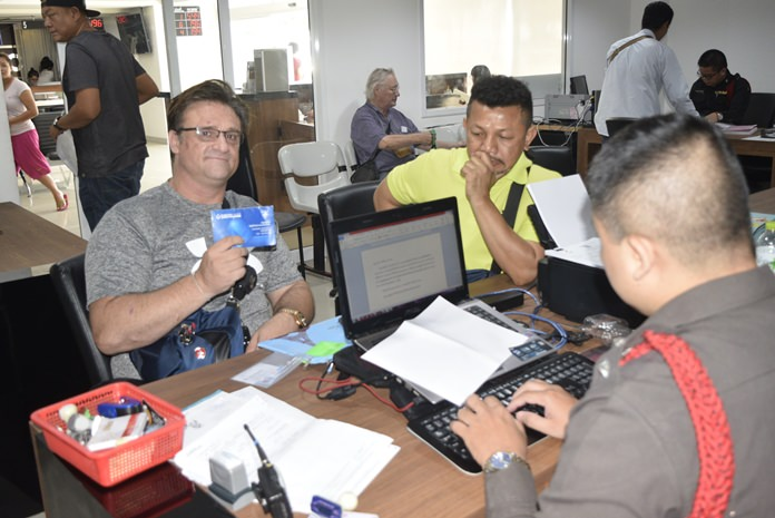Henrik Christian Koch files a police complaint after he got a rude surprise when he returned to Thailand and found 100,000 baht missing from his bank account.