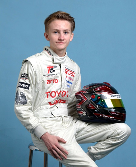 TR Motorsport's new recruit Victor Conrad Spliid Jensen.