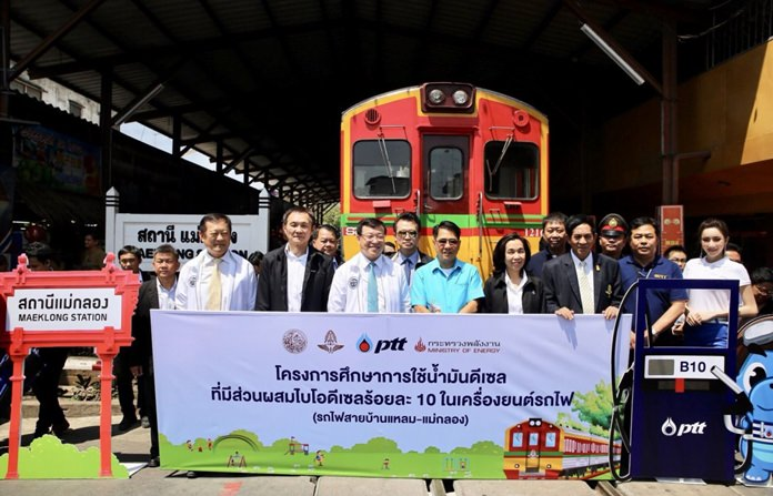 During the next 5-6 months, the Ministry of Transport will be testing B10 biodiesel, a biodiesel blend that is 10% biodiesel mixed with petrodiesel, in locomotives.