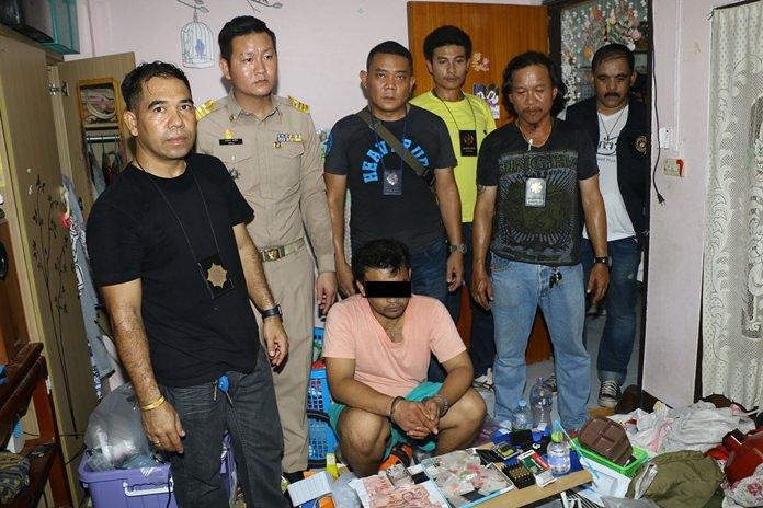 Koranat Charoenree was taken into custody in Sirikul Village.