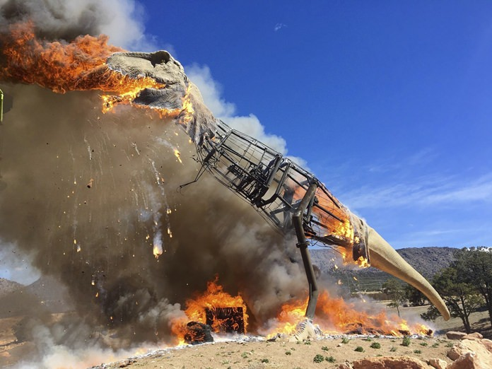 (Royal Gorge Dinosaur Experience via AP)