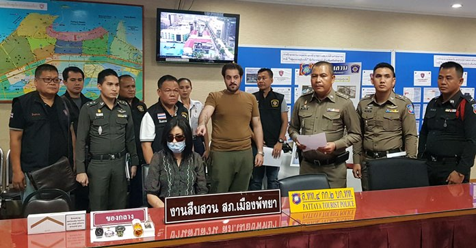 Pattaya police arrested a Moroccan woman for allegedly stealing 500,000 baht in luxury watches from her Kuwaiti lover.