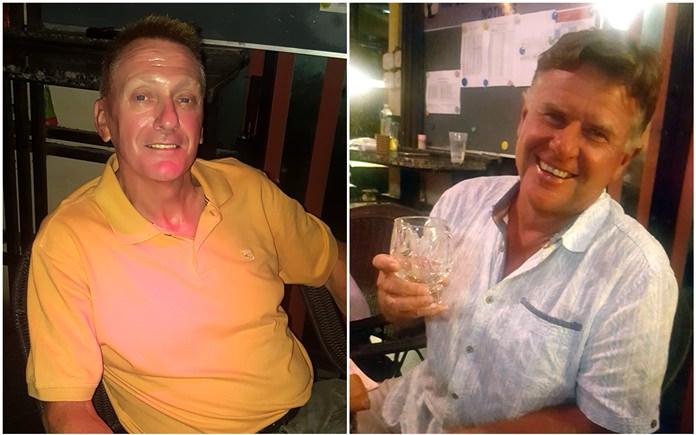 Neil Griffin (left) & Colin Greig.
