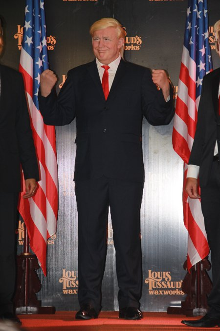 Donald Trump may have snubbed Thailand on his first Asian trip, but the U.S. president is now appearing in Pattaya at Louis Tussaud's Waxworks.
