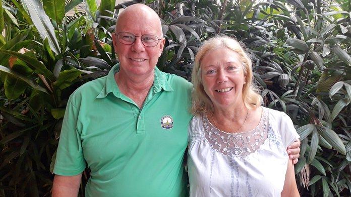 Brian Parish & Karen Brown.